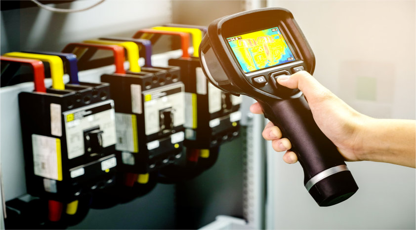 Affordable infrared thermographic survey and commercial thermal imaging services.