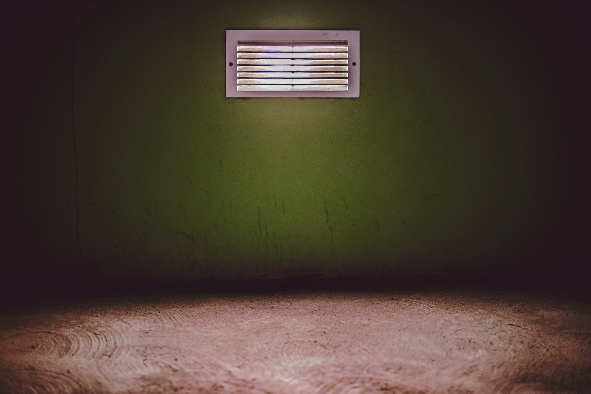 dirty HVAC vent